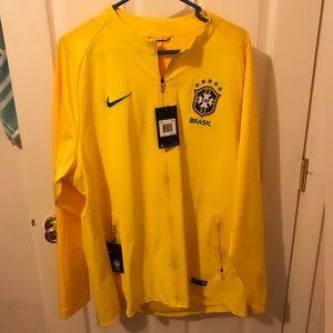 NWT Nike Brazil soccer jacket